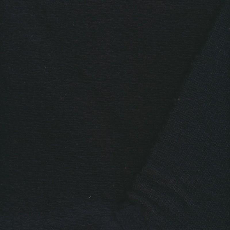 Filtet uld/strik, mørkeblå-36