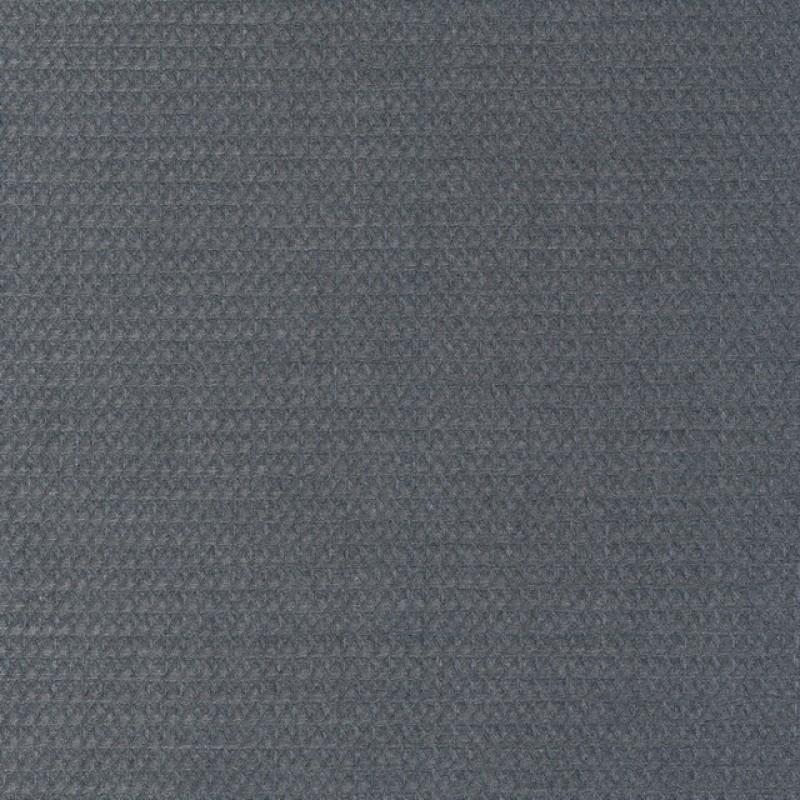 Uld/polyester med stræk og lille mønster i lys grå-35