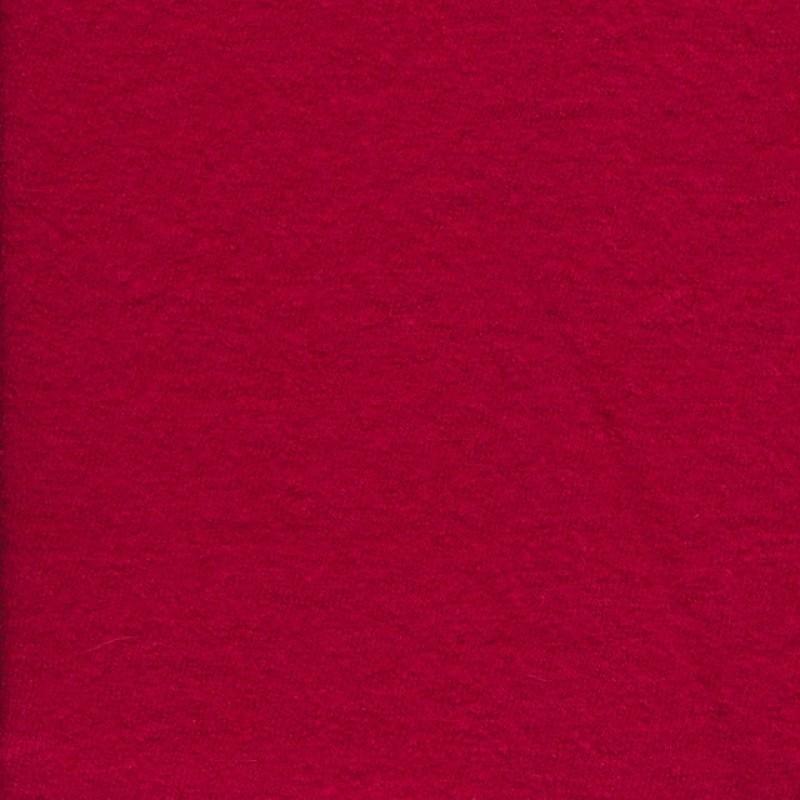 Boucle rød uld/viscose-35