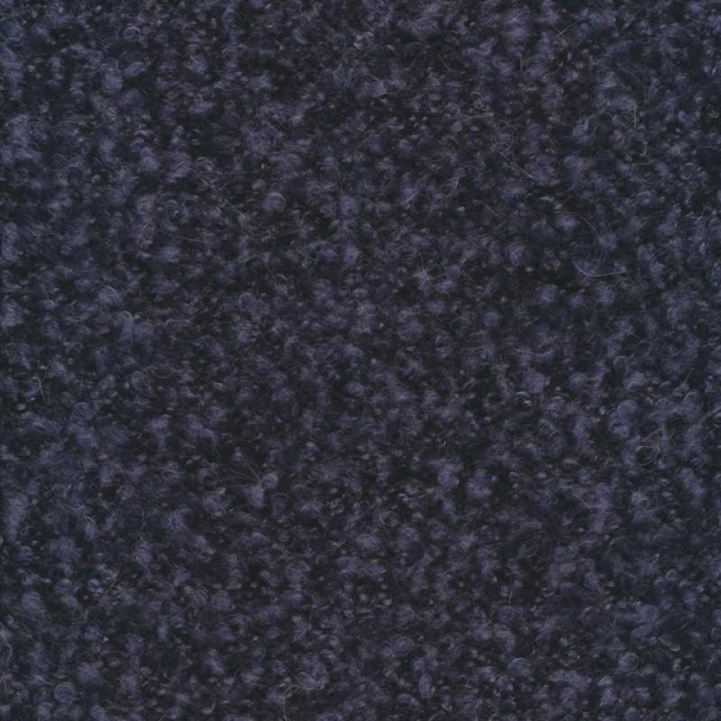 Boucle uld meleret i mørkeblå og denim-36
