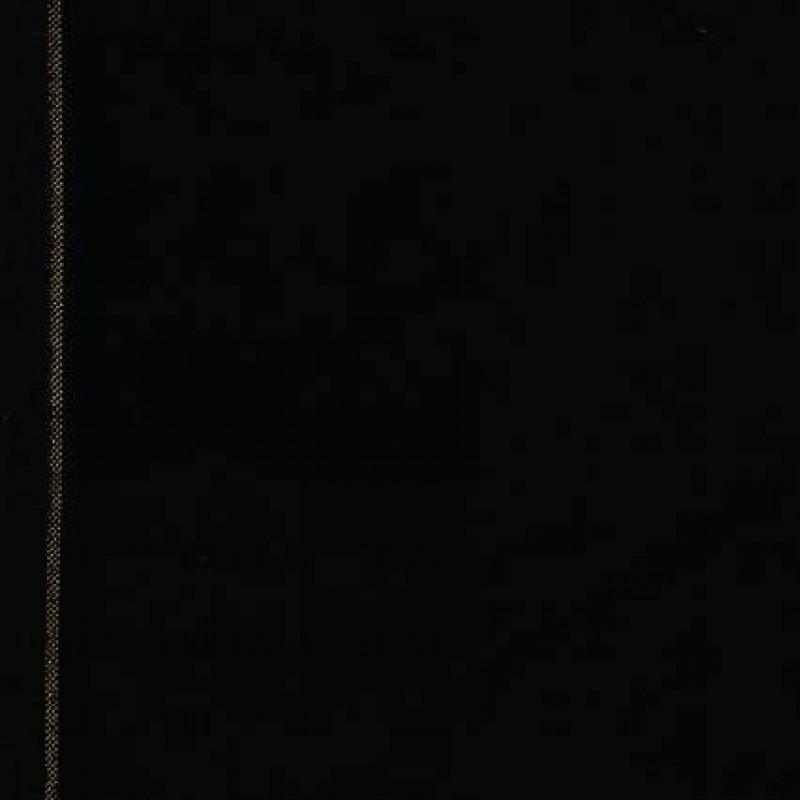 Rest Velour m/guld-kant, sort, 55 cm.-31