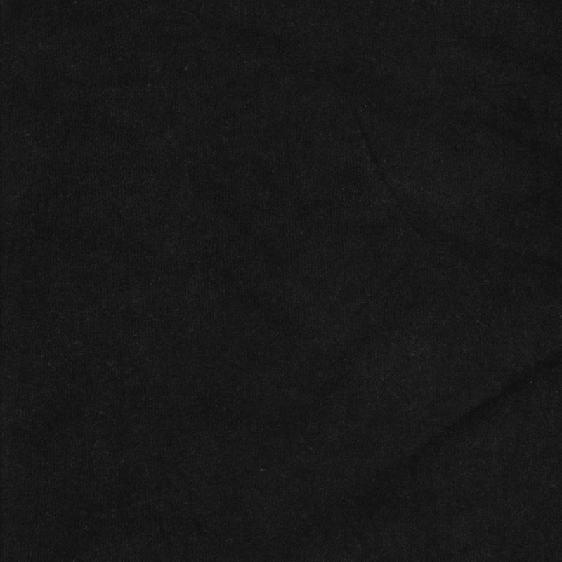 Rest Velour koksgrå-sort- 60 cm.