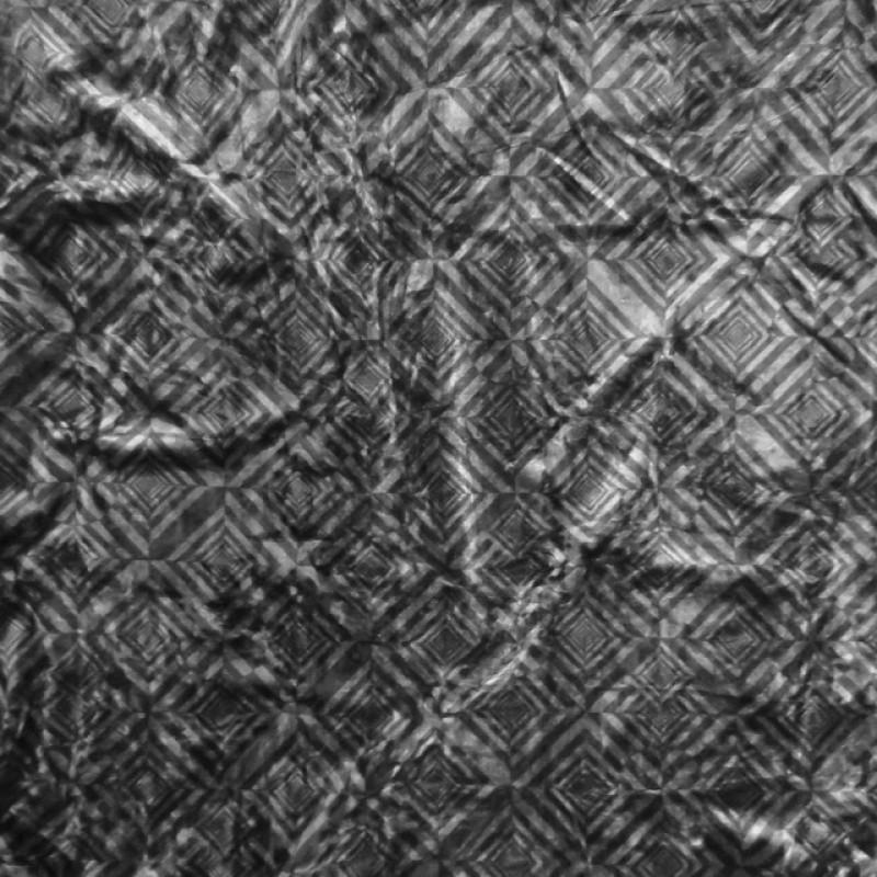 Velour med rude mønster i sort og koksgrå-38
