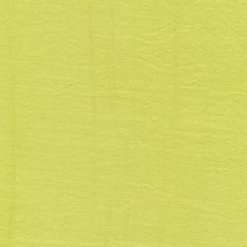 Viscose/polyester m/struktur, lys lime-gul-31