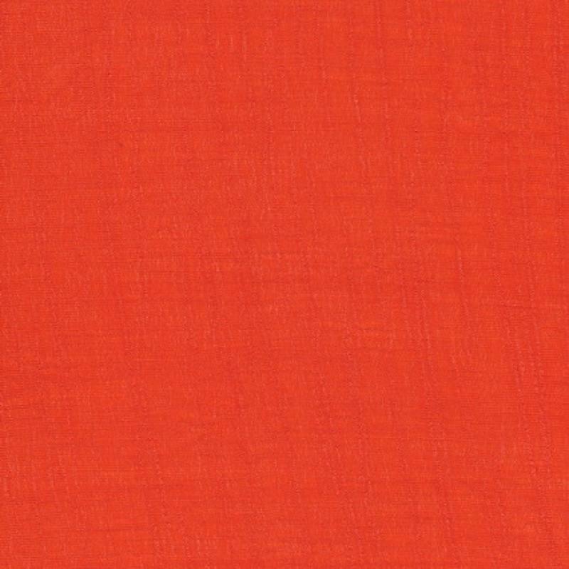 Rest Viscose/polyester m/struktur, orange 100 cm.-35