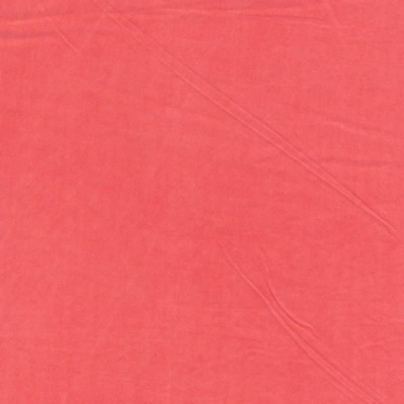 Sandvasket viscose koral-31