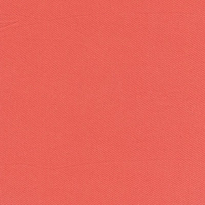 100% viscose twill-look ensfarvet, melon-33