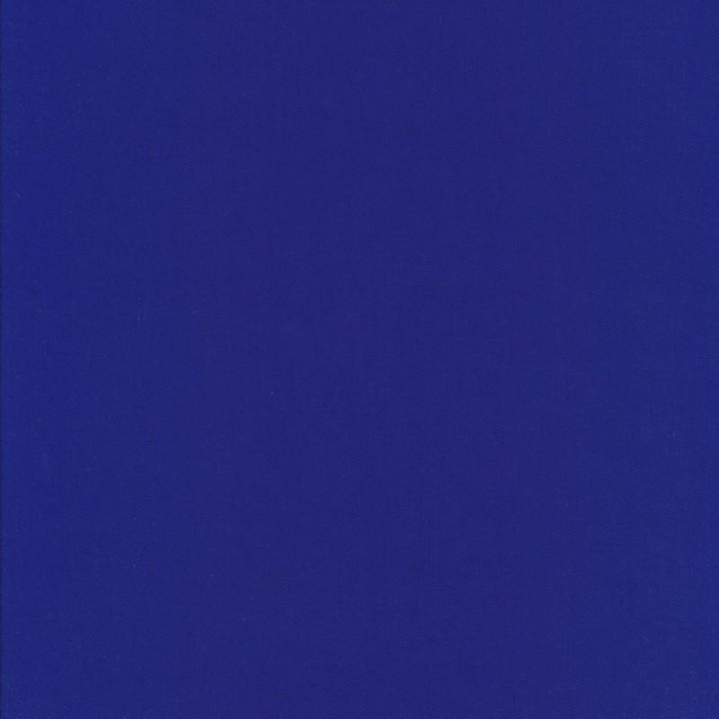 100% viskose twill-vævet ensfarvet koboltblå