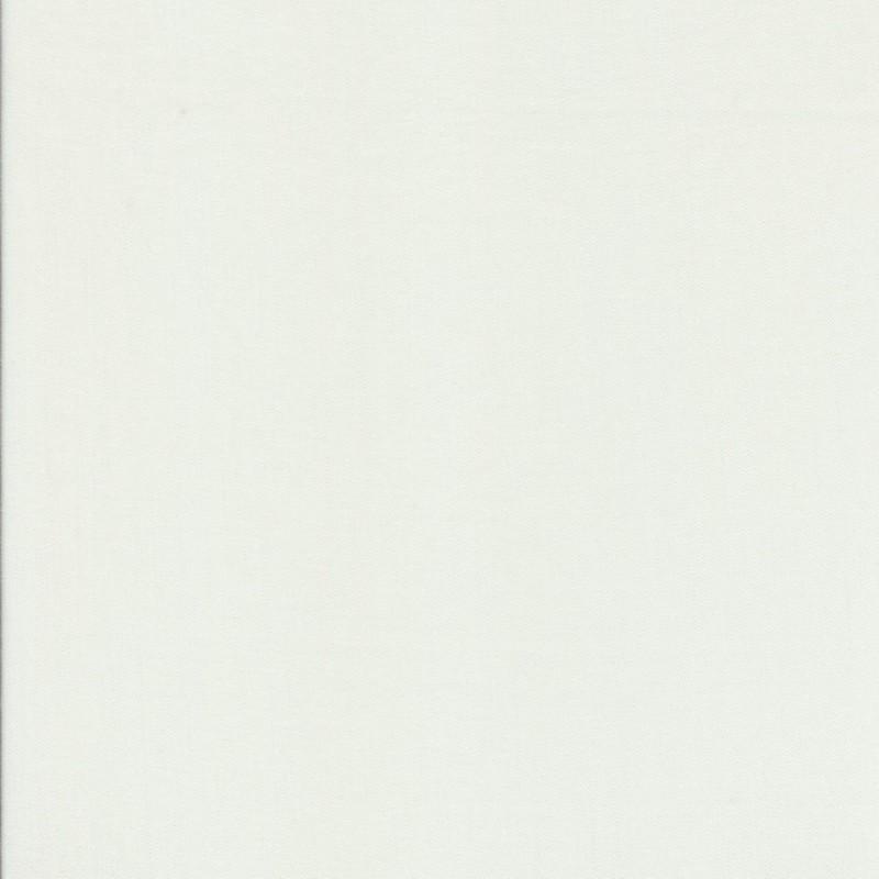 100% viskose twill-vævet ensfarvet knækket hvid