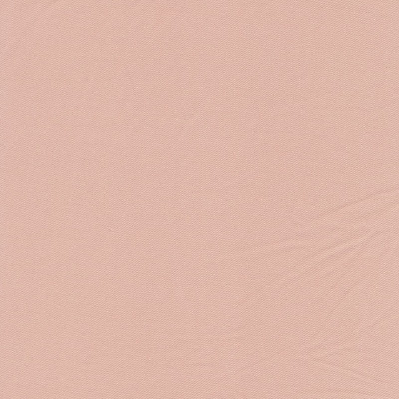 100% viskose twill-vævet ensfarvet lys pudder-rosa-311