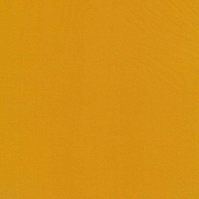 100% viskose twill-vævet ensfarvet carry-gul