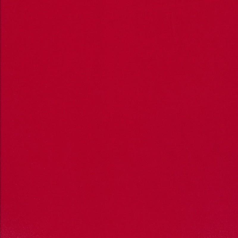 100% viskose twill-vævet ensfarvet rød