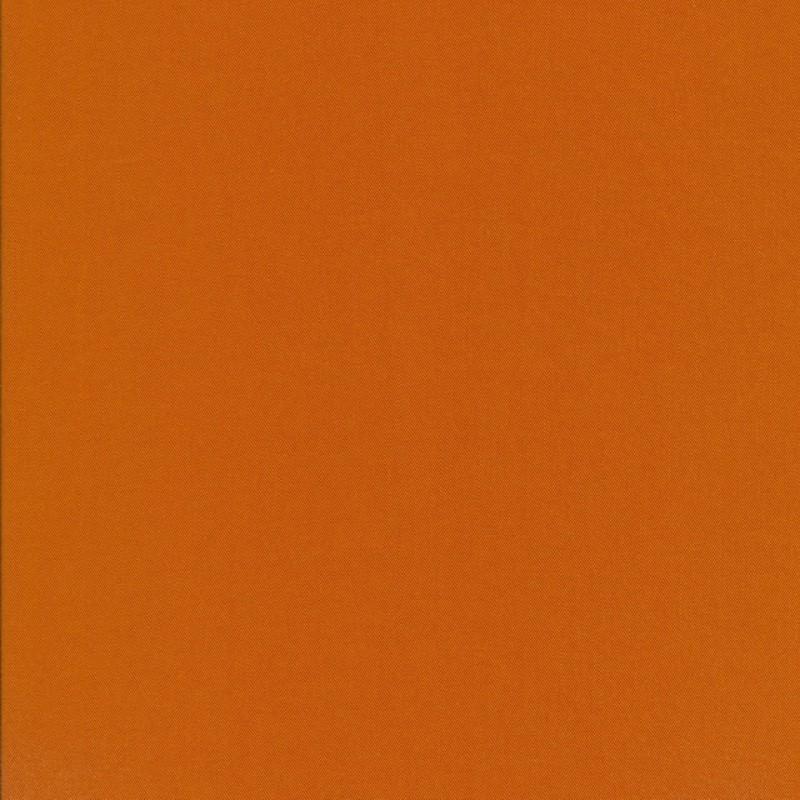 100% viskose twill-vævet støvet orange