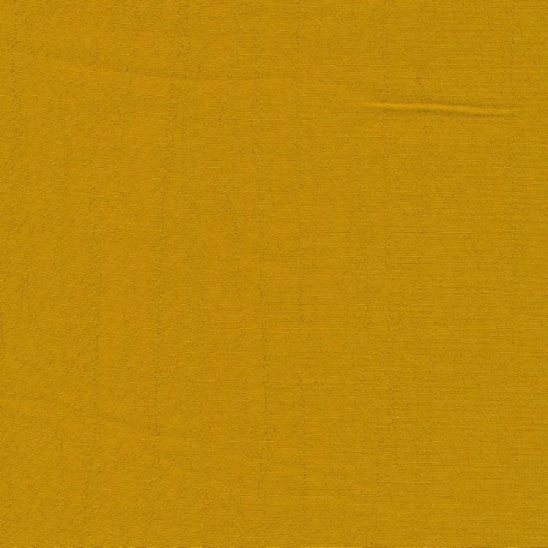100% viskose let crepe i gul