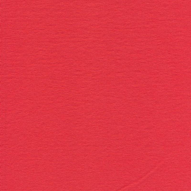Viscose/elasthan økotex koral-rød-31