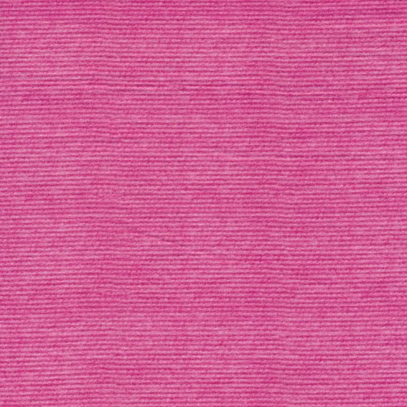 Viskose jersey med difuse striber i pink og lyserød