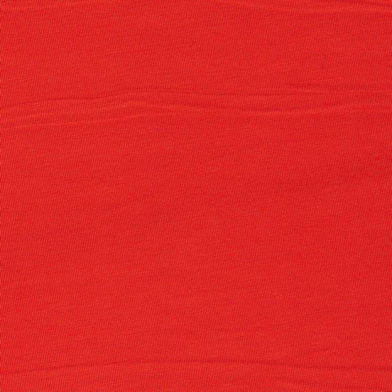 Let viskose jersey orange-rød
