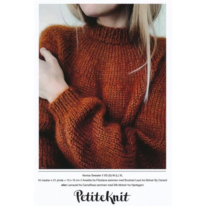 Novice Sweater PetiteKnit strikkeopskrift-37