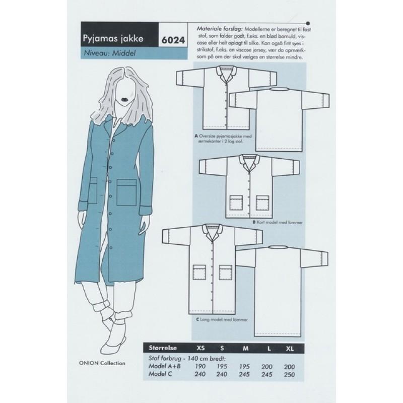 Onion 6024-Pyjamas jakke-30