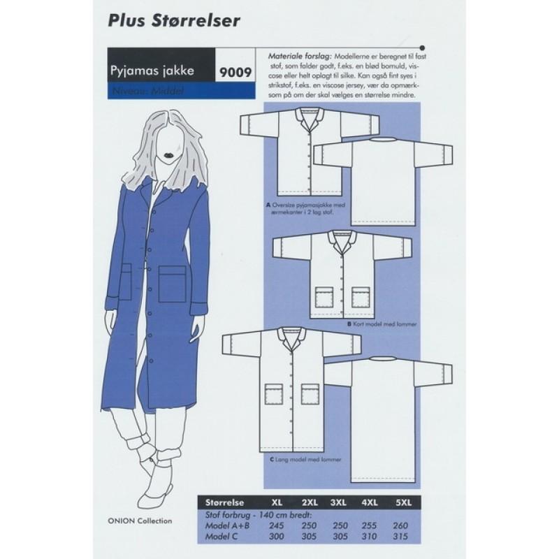 Onion 9009 Plus-Pyjamas jakke-31
