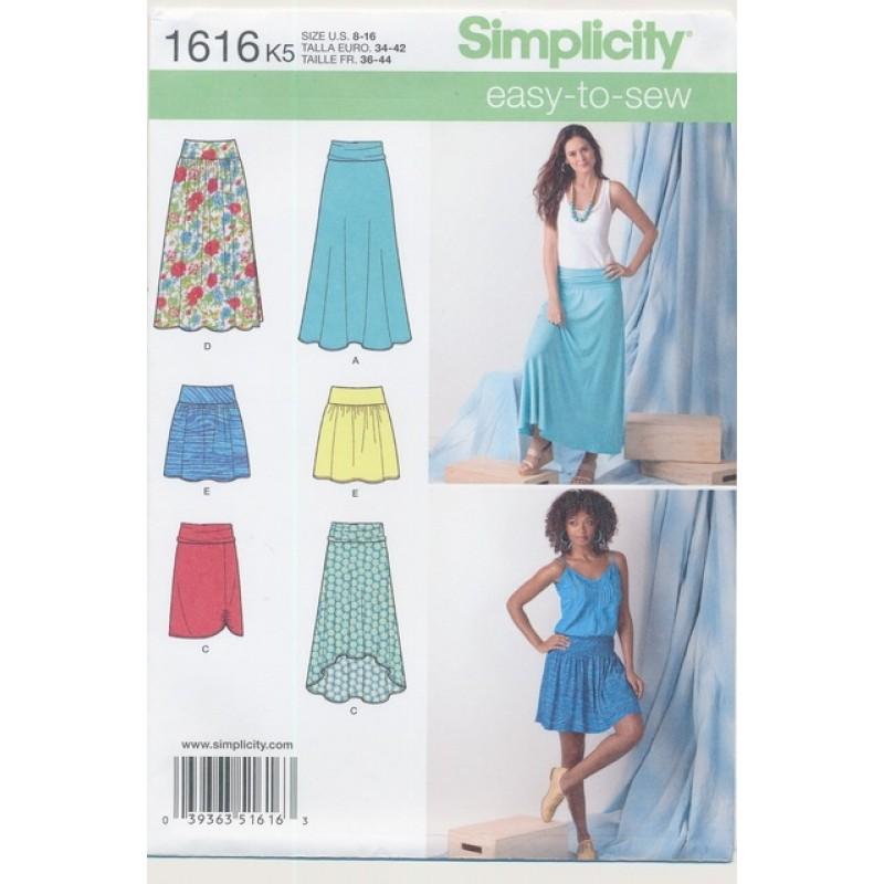 Simplicity 1616 Jersey-nederdel-31
