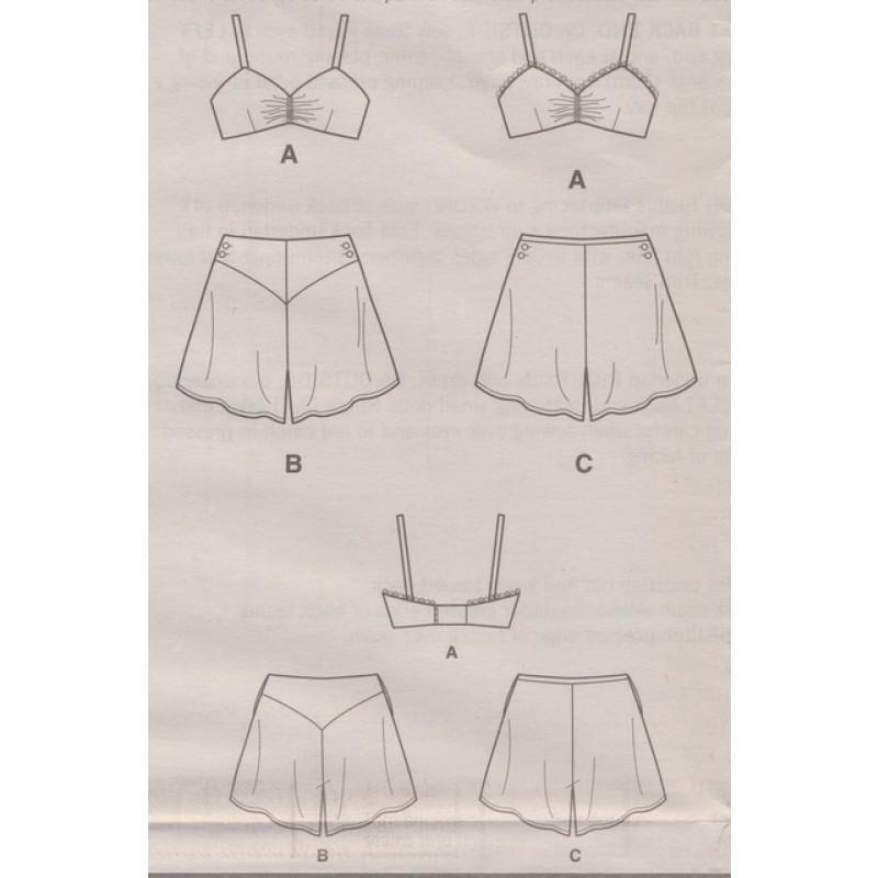 Simplicity 8510 1930s Vintage Bikini