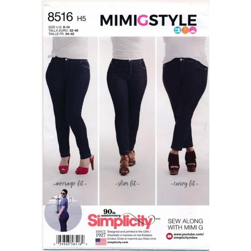 Simplicity 8516 Jeans bukser-33