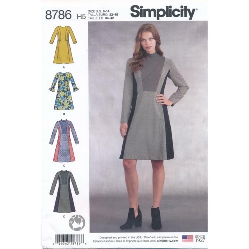 Simplicity 8786 kjole-06