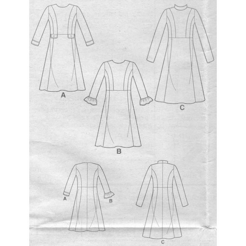 Simplicity 8786 kjole-36