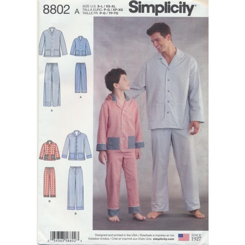 Simplicity8802Pyjamastilherreogdreng-35