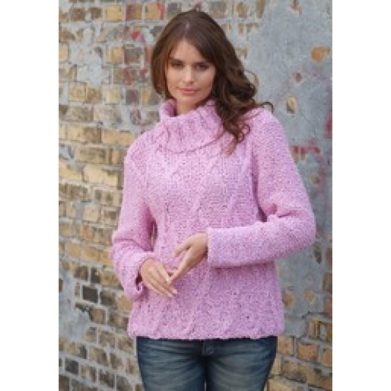 65580 Sweater m/snoningsmønster-30