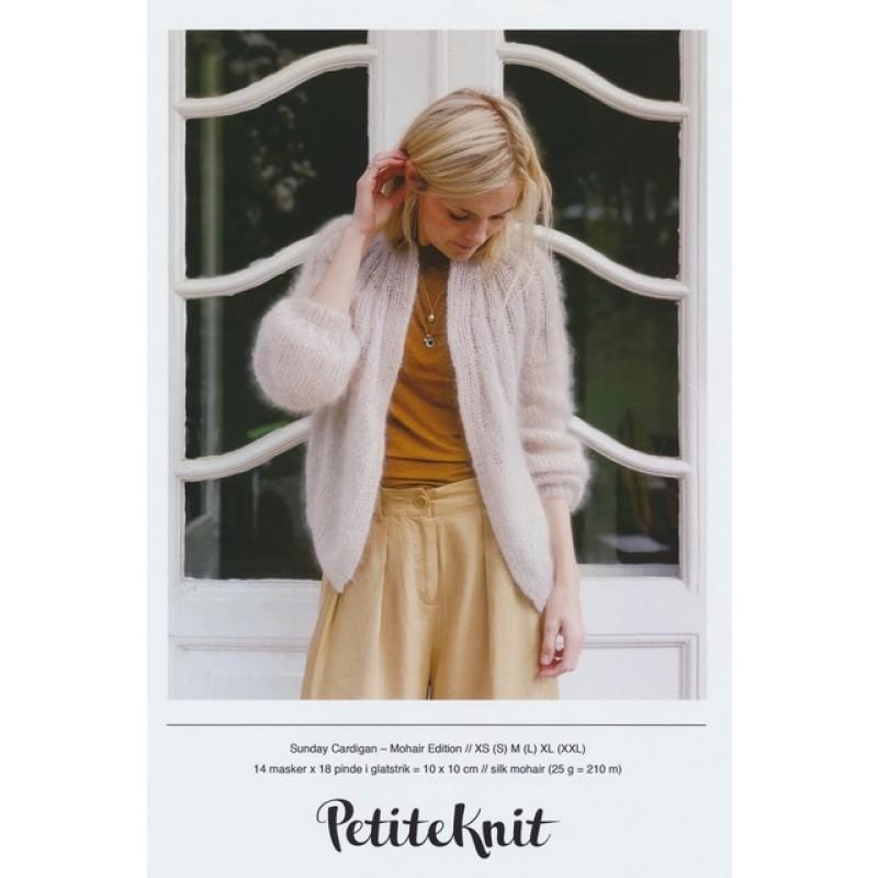 Sunday cardigan Mohair Edition PetiteKnit strikkeopskrift-014
