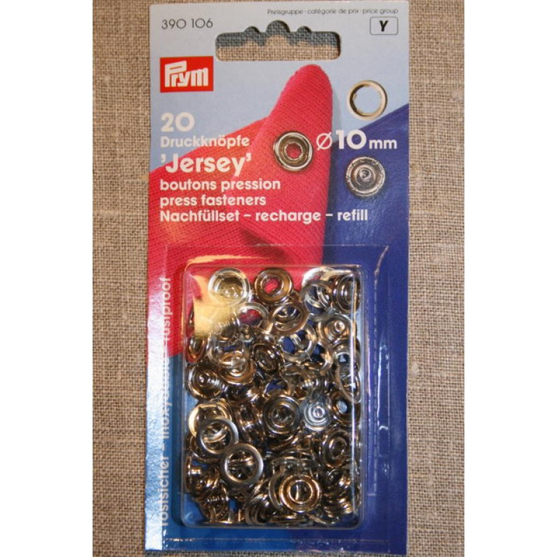 Jersey tryklåse u/værktøj, Prym-33