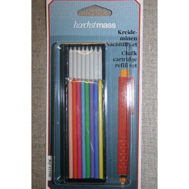 Markeringssæt til tryk-blyant, refill-31
