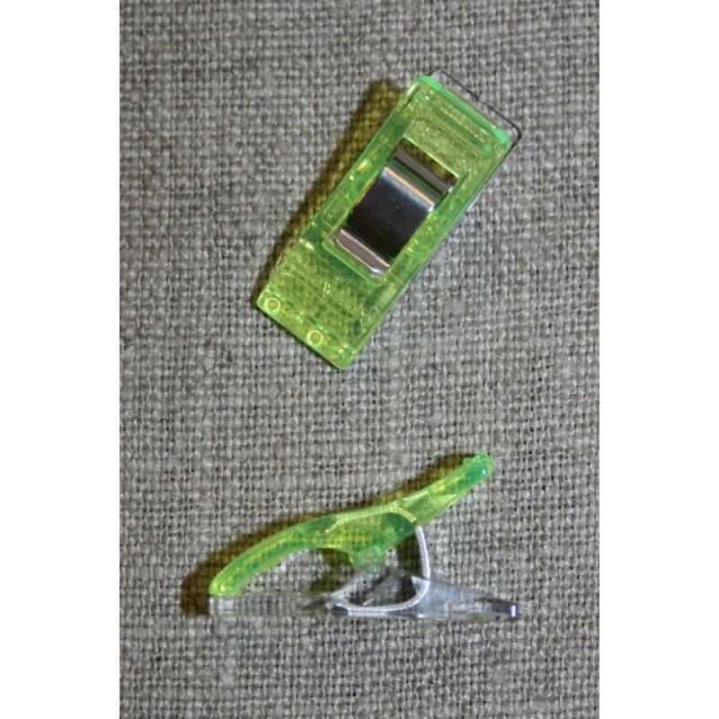 Wonder Clips neon grøn-33