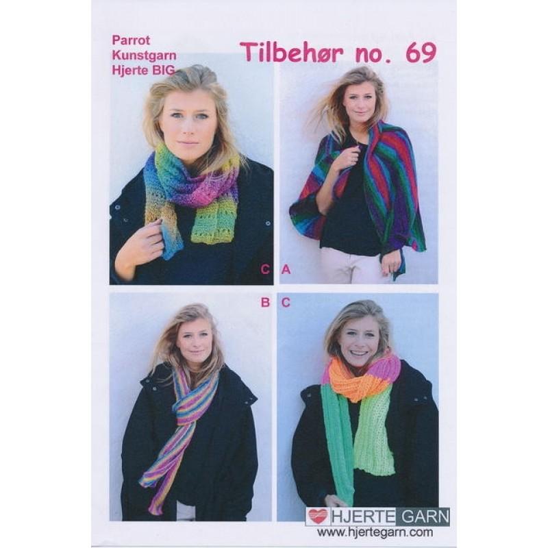 Tilbehør no. 69 sjal/tørklæde-31