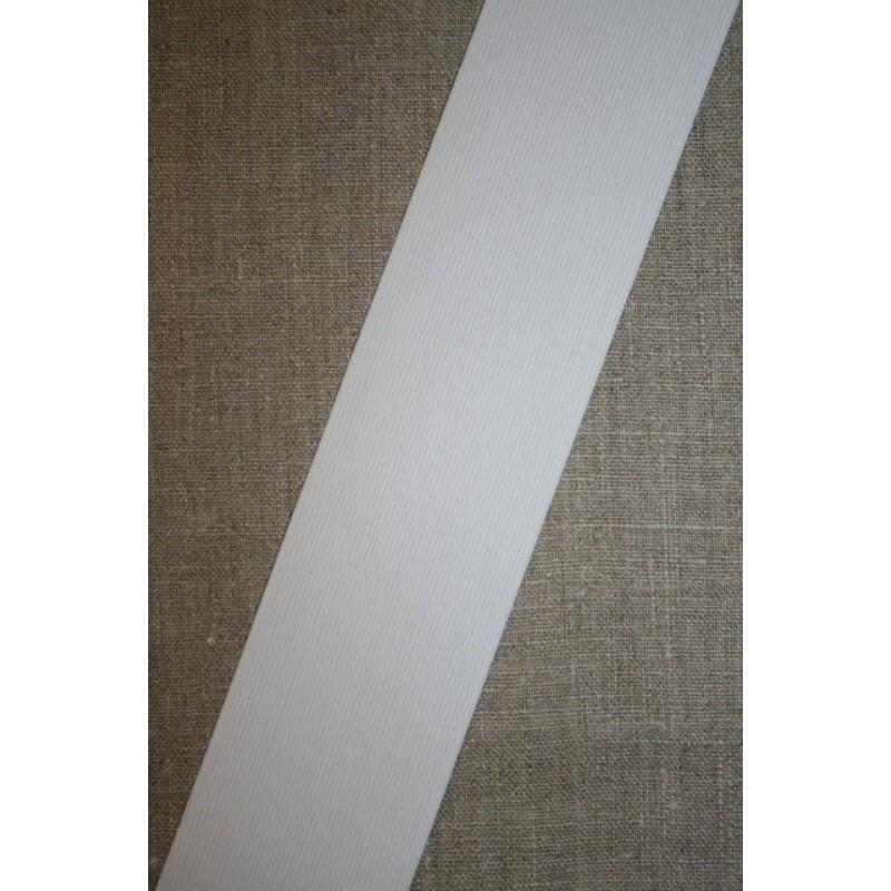 rest 55 mm. elastik hvid, 69 cm.-31