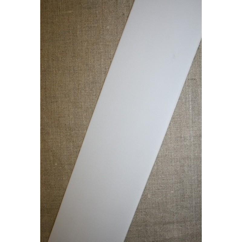 80 mm. kraftig elastik hvid-35