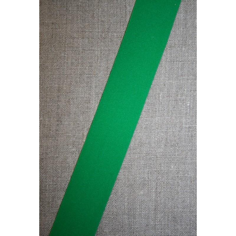 Rest Elastik til undertøj 30 mm. græsgrøn- 80 cm.