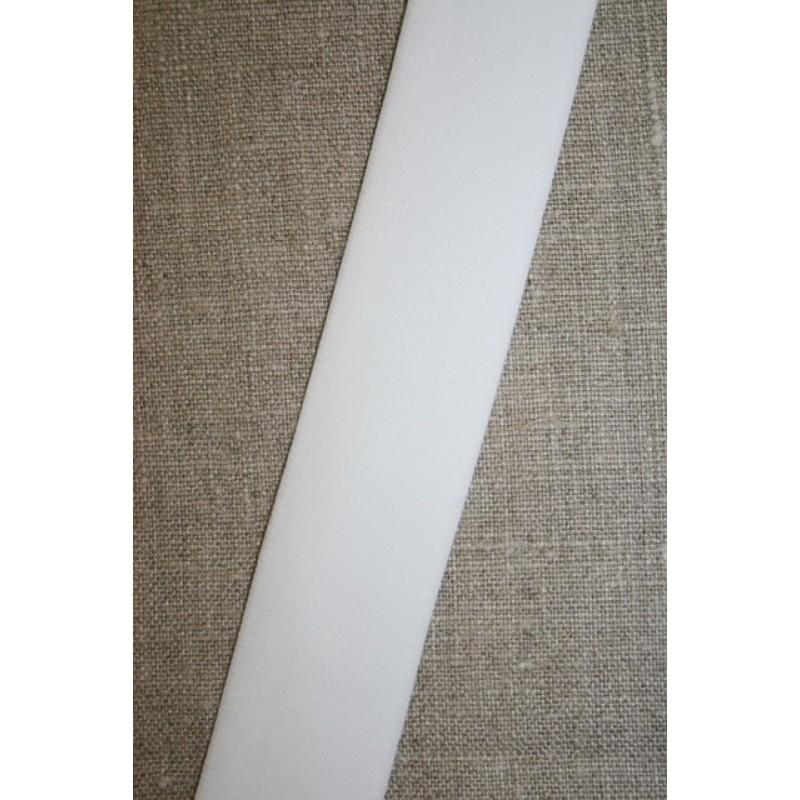 Elastik til undertøj 30 mm. hvid-31