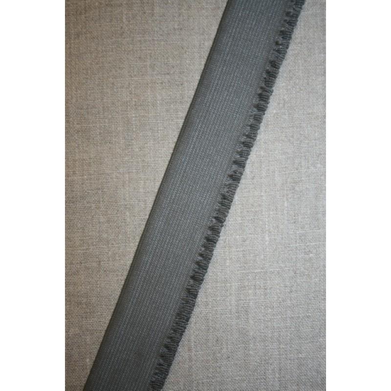 38 mm. flæseelastik grå