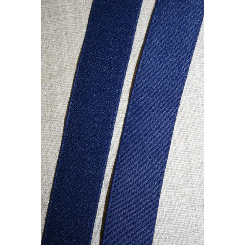 Elastik 25 mm. mørkeblå-33