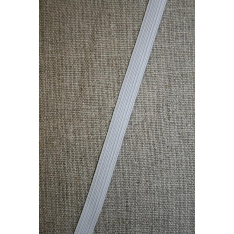 10 mm. elastik hvid