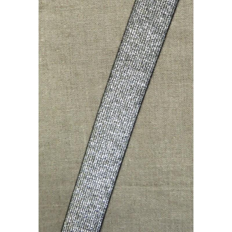 Elastik til bælter 30 mm. sølv-37