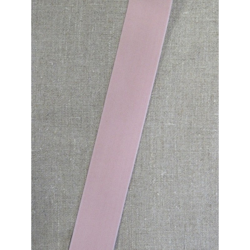 Elastik 40 mm. i pudder-rosa-39