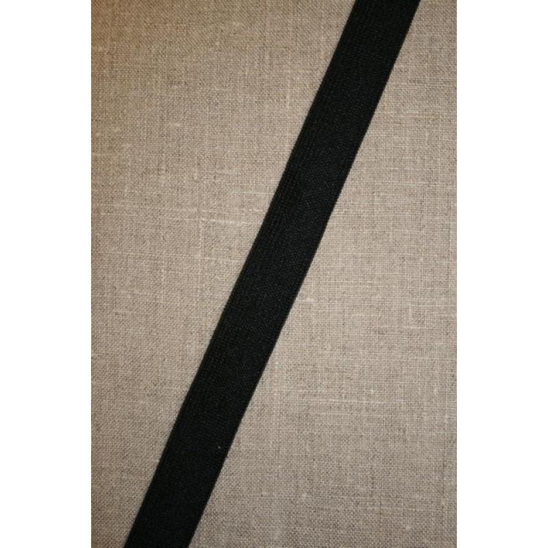 20 mm. elastik, sort