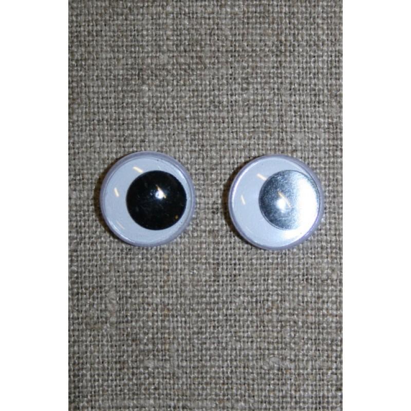 Bamse øjne-Rulleøjne 15 mm.-33
