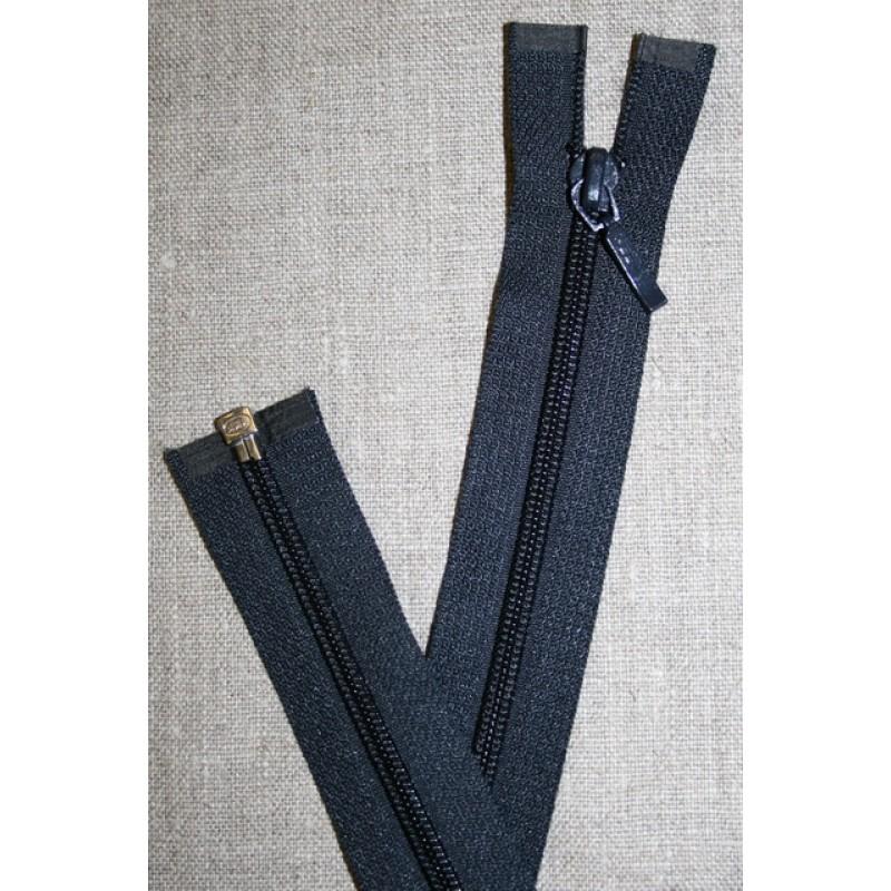55 cm. delbar lynlås, YKK mørkeblå-31