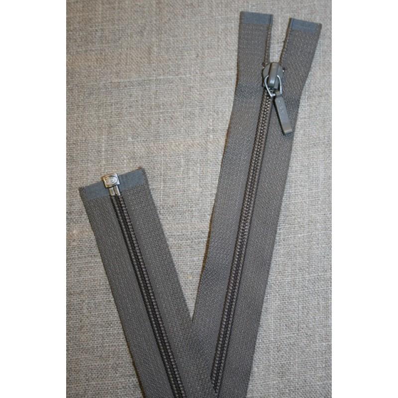 69 cm lynlås YKK, grå-35