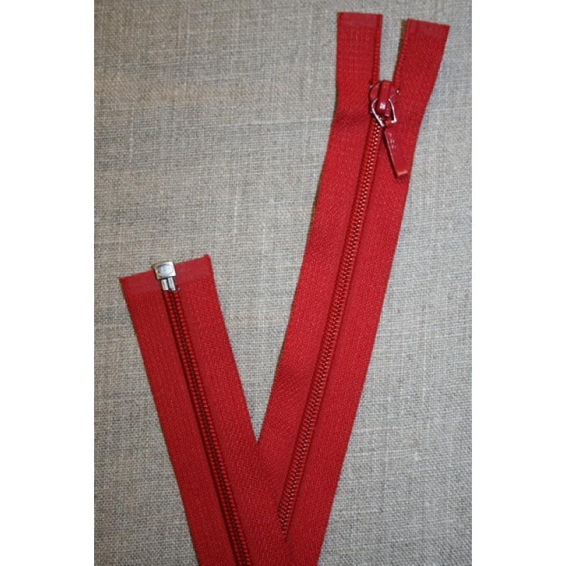 69 cm lynlås YKK, rød